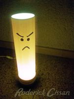 Unhappy Lamp by RoderickCissan