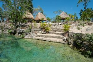 Steps to Cenote Stock by little-spacey