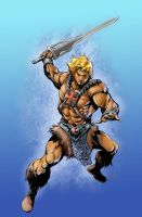 By the Powah of GRAYSKULLLLLLLLL.....  He-man! by popmhan