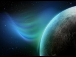 Auroral Winds by Casperium