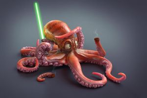 Star Wars - Squidwalker by M-Santin