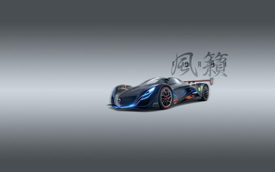 Mazda Furai Wallpaper by Nabucodorozor