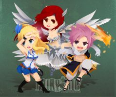 Fairy Tail by PANDEK0K0