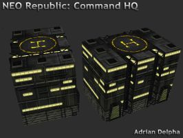 Neo Republic Command HQ by DelphaDesign