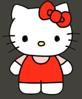 Paint tool sai - Hello Kitty by Katie-Kimii
