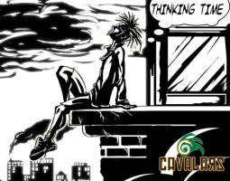 thinking about it by cavalars