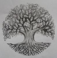 Oak Tree by Tattoo-Design