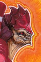 WREX -- Portrait of a Battlemaster by caramitten