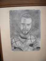 CM Punk: Drawing by Redzs00