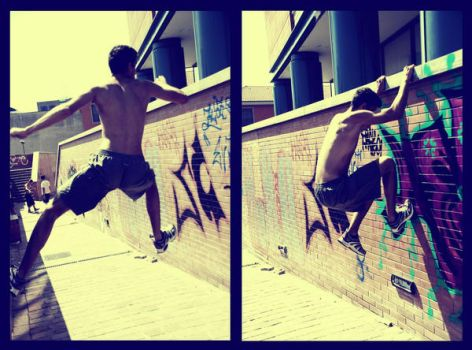 Parkour 2 by Diegozilla
