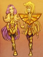 saint seiya - mu and shaka by spoonybards