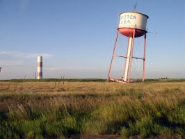 Leaning Watertower by ChibiLavos