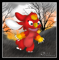 Lil Fireball by Fishlover
