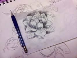 "Water Lily designs ""sl87"" by sl87070823"