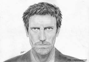 Hugh Laurie - Dr House by Fayeuh