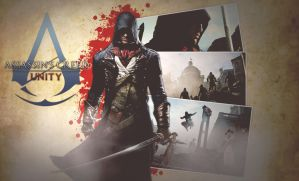 Assassin's Creed Unity Arno Wallpaper by DieVentusLady