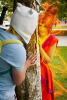 Adventure Time Cosplay - Peek a Boo! [Edit] by faramon