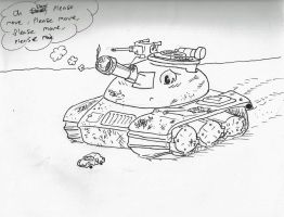A Worried Tank by ITS-ALL-NTG
