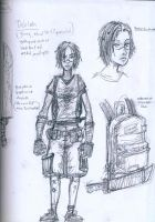 Delilah A Young Zombie Killer by FWACATA