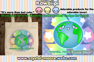 Kawaiipi: recycle. reuse. RESPECT! by Crystal-Moore