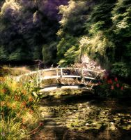STOCK BG 93 romantic places by MaureenOlder