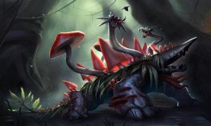 Heroes of Newerth - Fungle Bramble by Izaskun