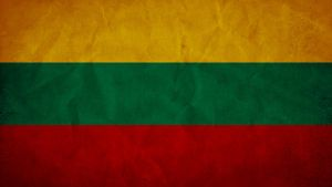 Lithuania Grunge Flag by SyNDiKaTa-NP