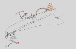 Santa-cat and Plane-deer (RP) by Sebascelisc