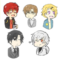 Mystic messenger by Screebs