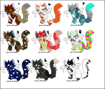 7 Point Kitten Adoptables by Chickfila-Chick