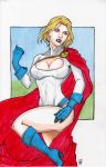 Power Girl Colored by AnielaAbair