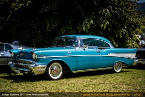 rare 1957 chevy bel air fuel injection by AmericanMuscle