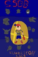 Ness is ready to Brawl by Red-Supernova64