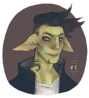 Drawlloween 2016 Day 26 - Goblin by Yuki-Almasy