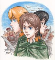 Attack on Titan by rose-star