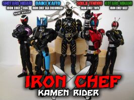 Iron Chef Kamen Rider by ZaEmpera