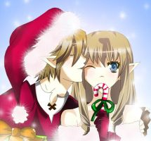 A ZeLink Christmas by CandiiGurll