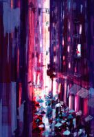 One more rainy day in the city. by PascalCampion