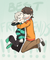 BEST FRIENDS by aster-lili