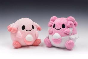 Chansey and Blissey Pokedolls