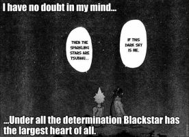Blackstar Has a Heart by Mask--Chan