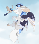 Far Above The Clouds by SirKittenpaws