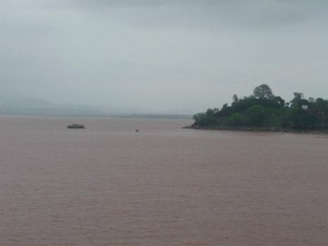 Rawal Dam After the Flood by Wak786