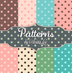 Dotted patterns for Photoshop by AnitaLec