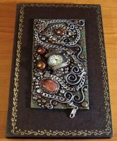 Blank journal with agate cab by MandarinMoon