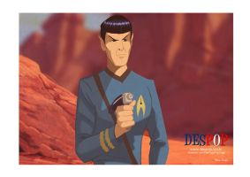 Retro Spock by DESPOP