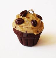 Coffee Lovers Cupcake Charm 1 by FatallyFeminine
