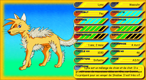 Fiche reference de Lynx - S3 by DisccatFR
