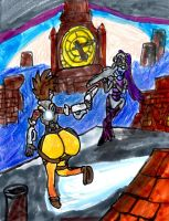 Tracer vs Widowmaker by SonicClone