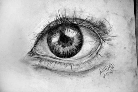 Eye study by sakudo-no-hane